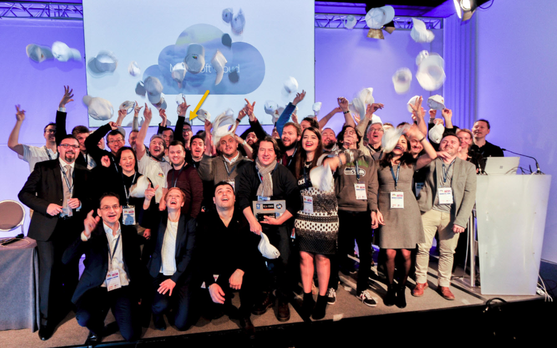 MS Cloud summit Sprekers