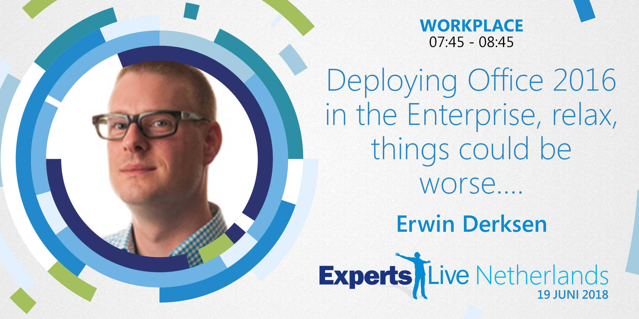 Experts Live - Office 2016 - Erwin Derksen